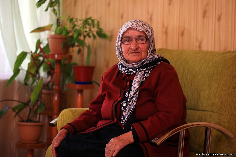 Muhabat Mamedova, 91, was 23 years old and newly married during the deportation.
